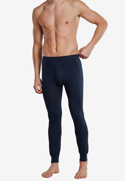 SCHIESSER Lange Unterhose in blau, Modelansicht