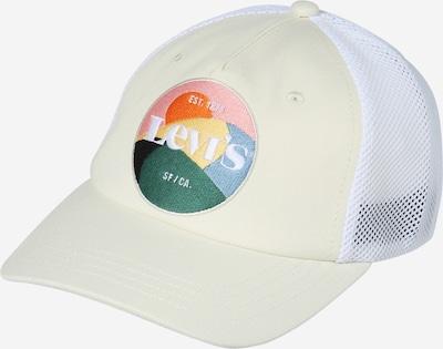 LEVI'S Cap in creme / mischfarben / weiß, Produktansicht