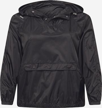 Urban Classics Curvy Between-Season Jacket in Black