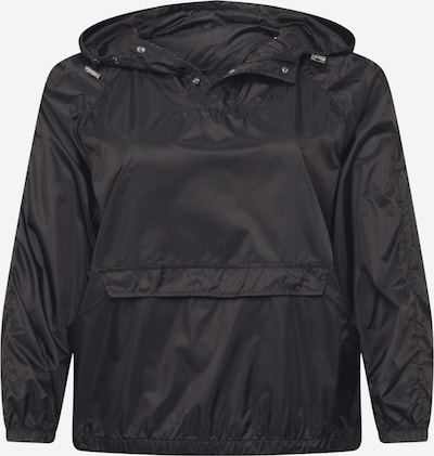 Urban Classics Curvy Prechodná bunda - čierna: Pohľad spredu