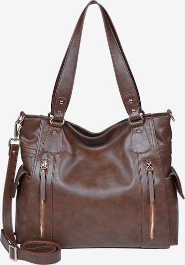 Silvio Tossi Handbag in Brown, Item view