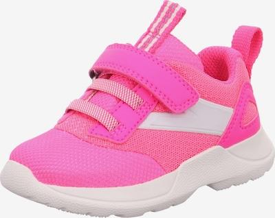 SUPERFIT Sneaker 'RUSH' in pink / weiß, Produktansicht