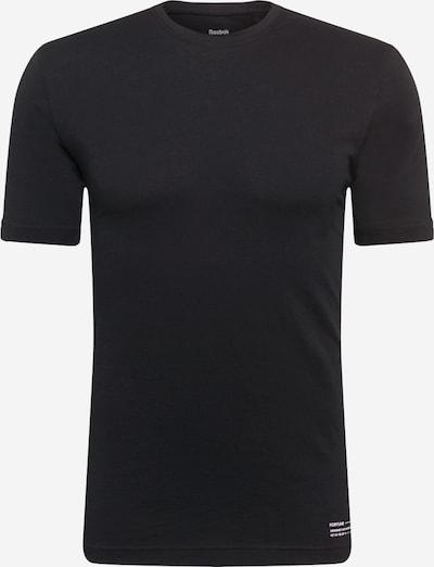 REEBOK Sporta krekls melns / balts, Preces skats
