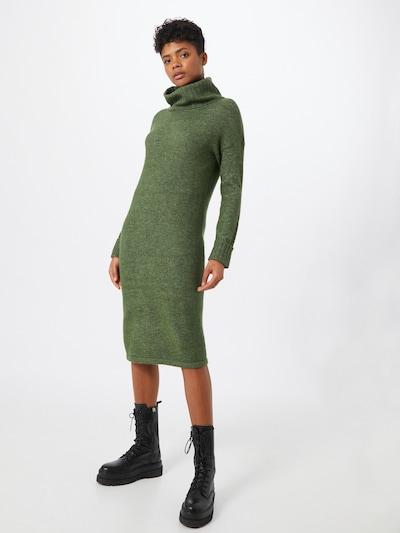 VERO MODA Kleid  'Gaiva' in grünmeliert: Frontalansicht