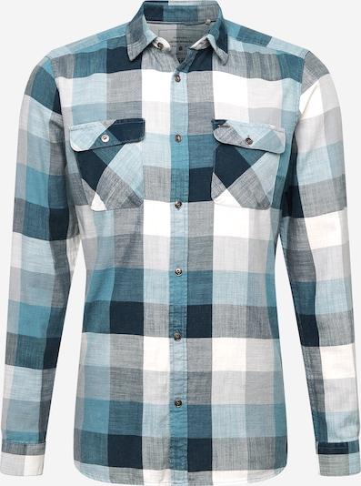 Camicia 'JORK' Only & Sons di colore petrolio / smeraldo / bianco, Visualizzazione prodotti