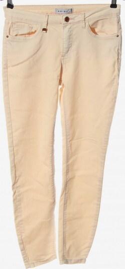 Amisu Röhrenhose in M in creme, Produktansicht