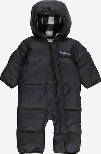 COLUMBIA Функционален костюм 'Snuggly Bunny' в черно, Преглед на продукта