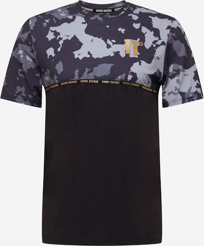 11 Degrees Shirt in de kleur Grijs gemêleerd / Zwart / Wit, Productweergave