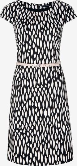 COMMA Kleid in schwarz / weiß ONk1q409