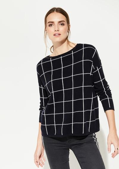 Ci comma casual identity Pullover in schwarz, Modelansicht