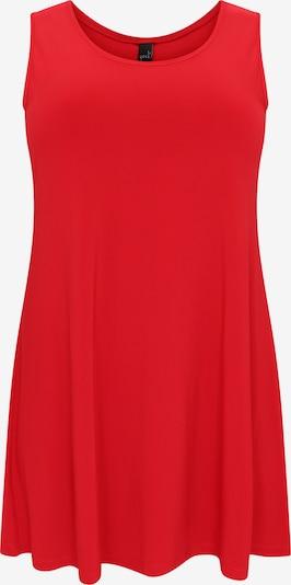 Yoek Top ' long ' in de kleur Rood, Productweergave
