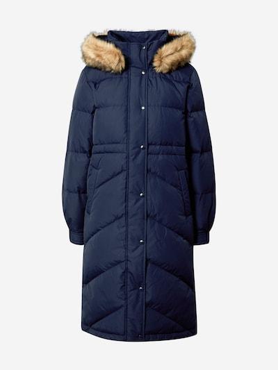 GAP Manteau d'hiver en beige / bleu marine: Vue de face