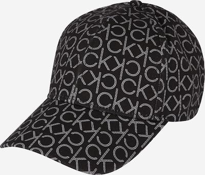 Calvin Klein Шапка с козирка в черно / бяло, Преглед на продукта