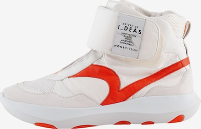 Högl High-Top Sneakers 'VSN 02' in Orange red / White, Item view