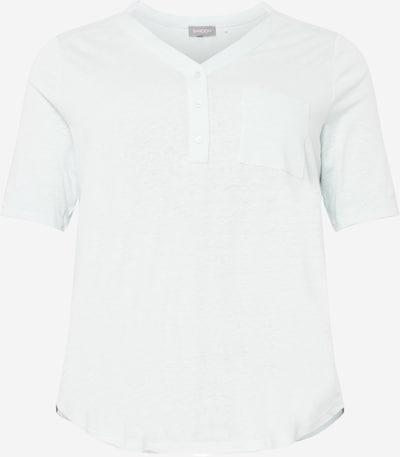 SAMOON T-Shirt in azur, Produktansicht