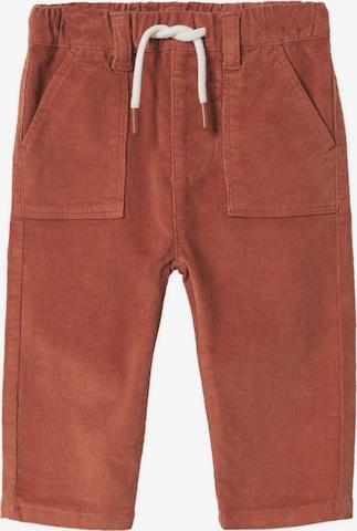 Pantaloni 'Ross' de la MANGO KIDS pe portocaliu