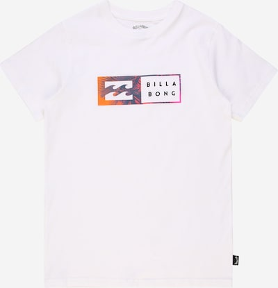 BILLABONG T-Shirt fonctionnel 'INVERSED' en bleu violet / orange / rose / blanc, Vue avec produit