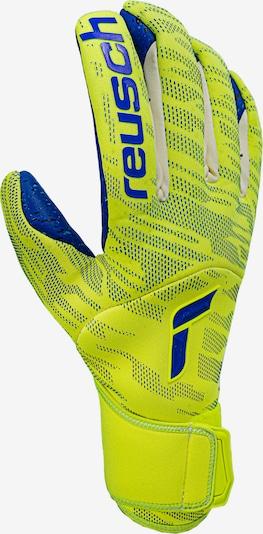 REUSCH Sporthandschuhe in kobaltblau / neongelb, Produktansicht