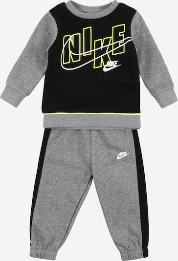 Nike Sportswear Survêtement en jaune / gris / noir, Vue avec produit