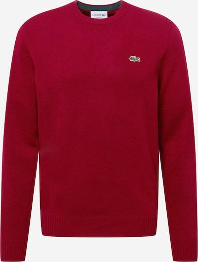 Pulover LACOSTE pe roși aprins, Vizualizare produs
