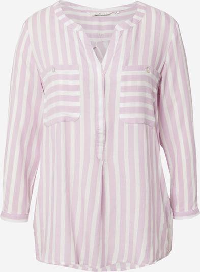 TOM TAILOR Bluza u pastelno ljubičasta / bijela, Pregled proizvoda