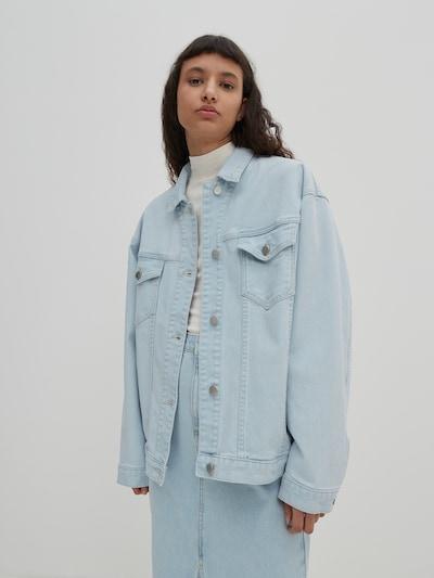 EDITED Between-season jacket 'Hatti' in Blue denim, View model