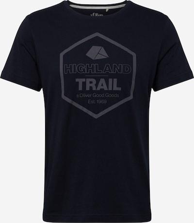s.Oliver T-Shirt in dunkelblau, Produktansicht