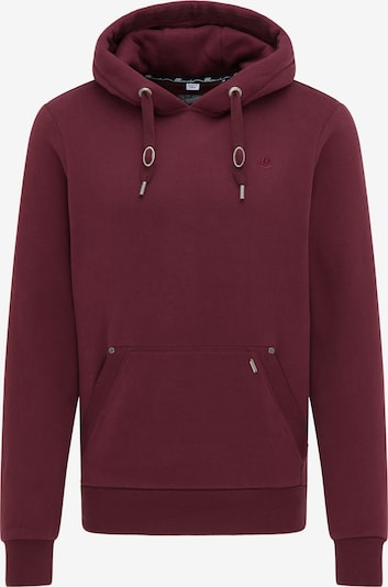 DreiMaster Vintage Sweatshirt in bordeaux, Produktansicht