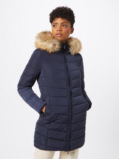 ONLY Zimski kaput u bež / tamno plava, Prikaz modela