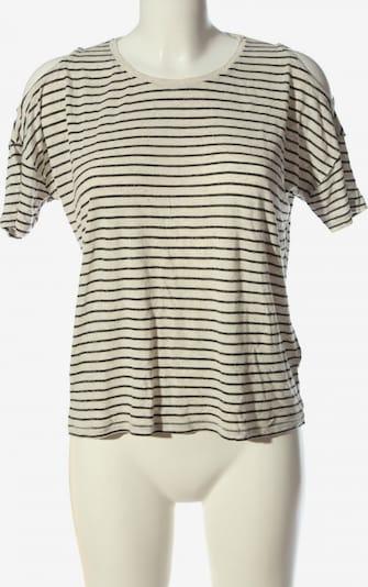 Mavi Ringelshirt in S in creme / schwarz, Produktansicht