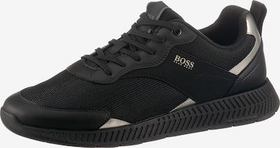BOSS Casual Sneaker in schwarz / weiß, Produktansicht