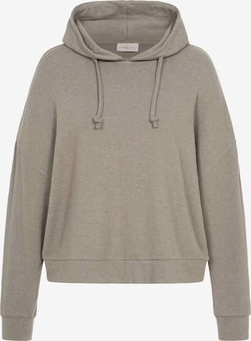 Cotton Candy Sweatshirt 'TAHINA' in Brown