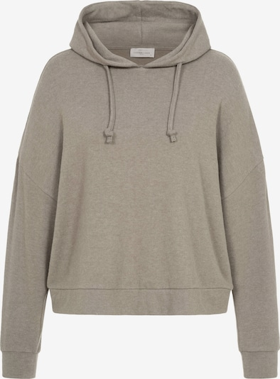 Cotton Candy Sweatshirt 'TAHINA' in Taupe, Item view