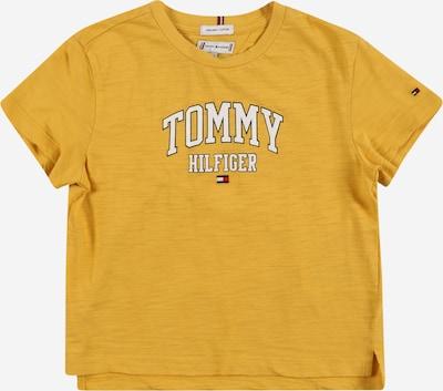 Tricou TOMMY HILFIGER pe albastru noapte / galben muștar / roșu / alb, Vizualizare produs