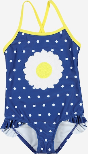 STACCATO Badeanzug in blau / gelb / weiß, Produktansicht