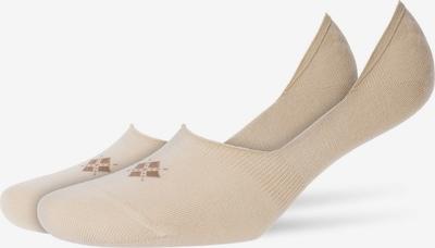 BURLINGTON Socken in beige: Frontalansicht