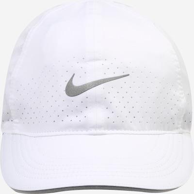 NIKE Športna kapa | srebrna / bela barva, Prikaz izdelka