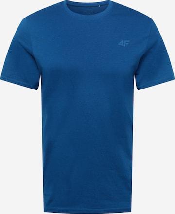 4F Sportshirt in Blau