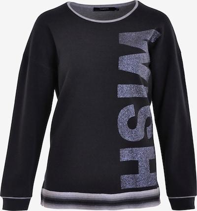 Navigazione Sweatshirt in grau / schwarz, Produktansicht
