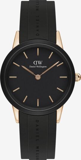 Daniel Wellington Uhr in rosegold / schwarz, Produktansicht