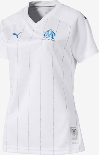 PUMA Heimtrikot 'Olympique de Marseille' in azur / weiß, Produktansicht