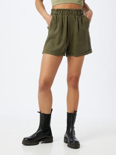 Noisy may Shorts 'MARIA' in khaki, Modelansicht