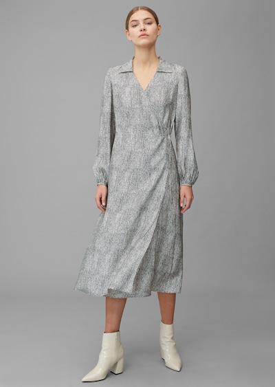 Marc O'Polo Pure Kleid ' in grau, Modelansicht