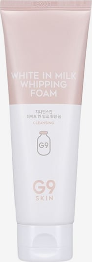 G9 Skin Reinigungsschaum 'White in Milk' in weiß, Produktansicht