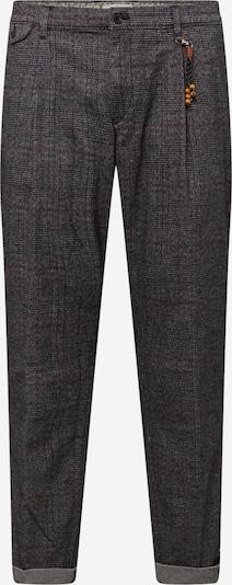 Jack & Jones Plus Pantalon à pince 'DYLAN' en gris chiné / bordeaux, Vue avec produit