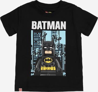 LEGO WEAR T-Shirt en aqua / jaune / noir / blanc, Vue avec produit