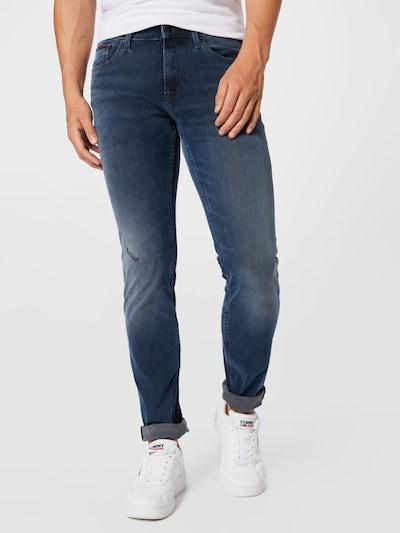 Tommy Jeans Jeans 'SCANTON' i mörkblå, På modell