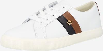 Sneaker low 'JANSON' Lauren Ralph Lauren pe maro / negru / alb, Vizualizare produs