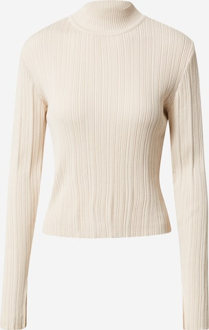 A LOT LESS Sweater 'Tia' in Beige