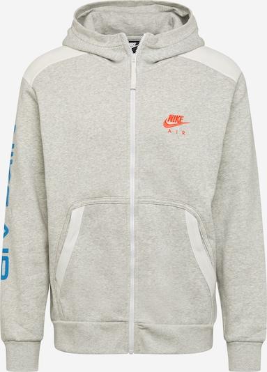 Nike Sportswear Collegetakki värissä sininen / vaaleanharmaa / koralli / valkoinen, Tuotenäkymä